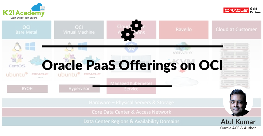 Oracle PaaS Offerings