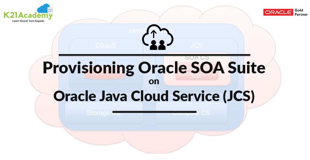 Provisioning Oracle SOA Suite on Oracle JCS High-Level Steps