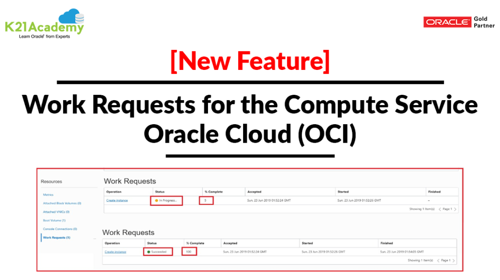 OCI New Feature