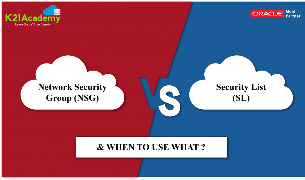 Network Security Groups Vs. Security List