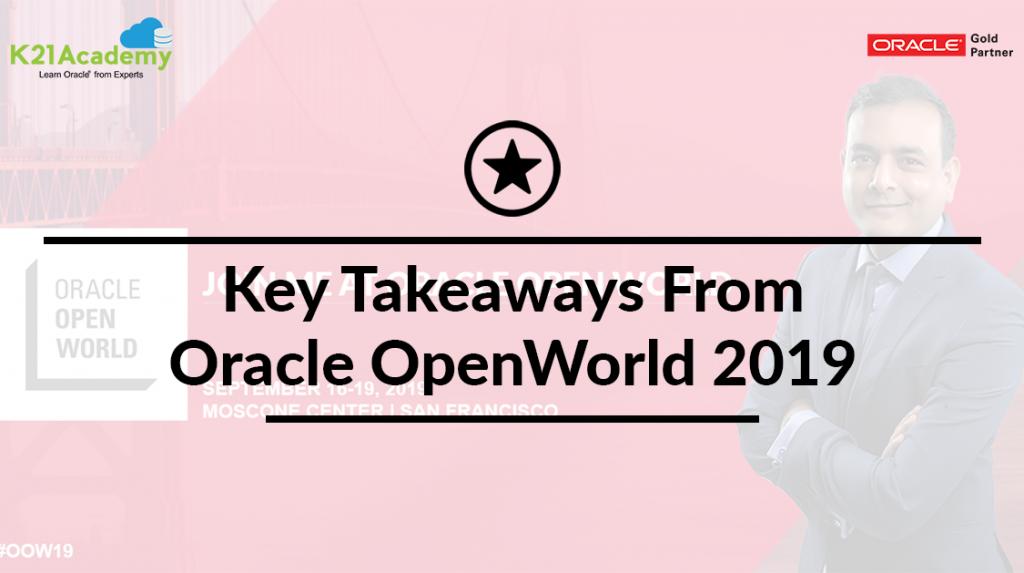 Oracle OpenWorld Keynotes