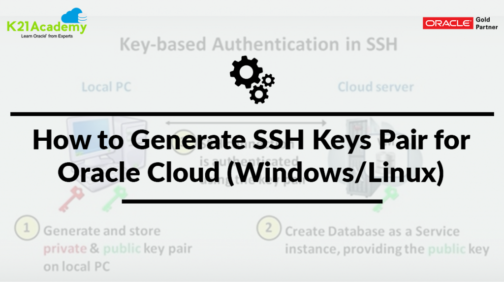 Generate SSH Keys