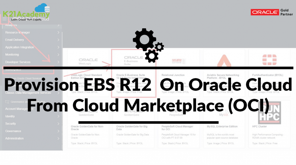 Provision EBS R12 On Oracle Cloud