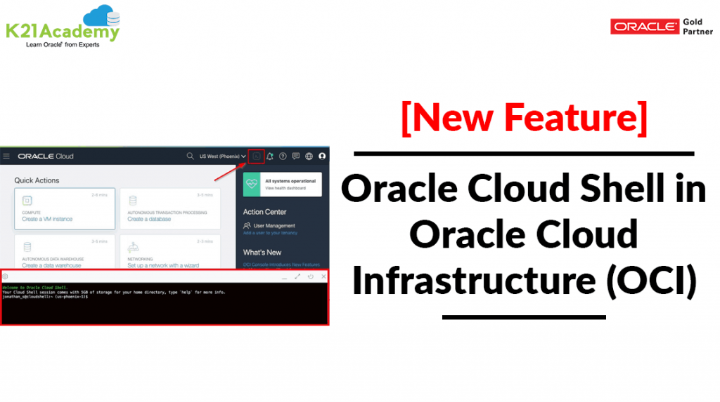 Oracle Cloud Shell