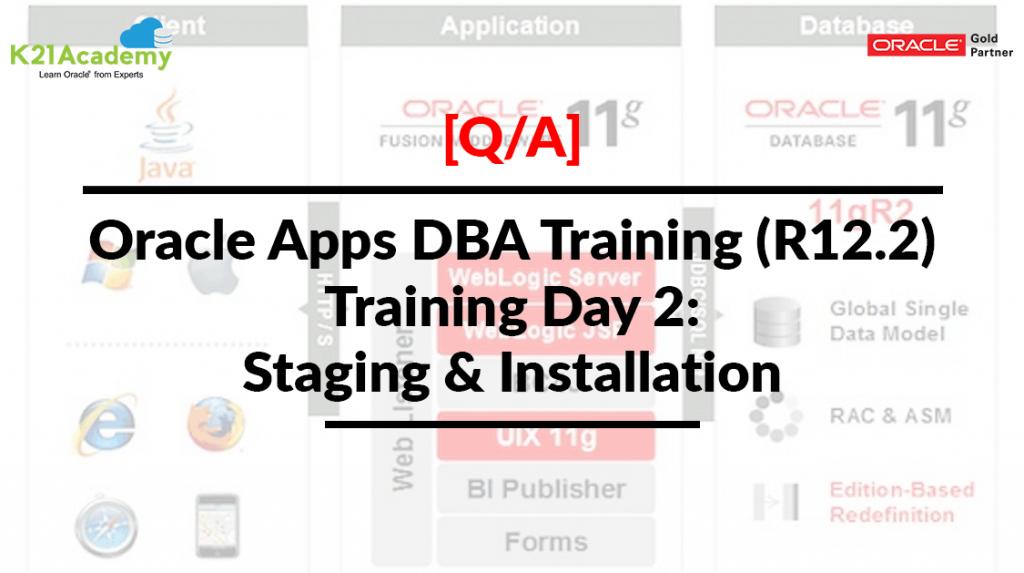 Oracle Apps DBA Training (R12.2)