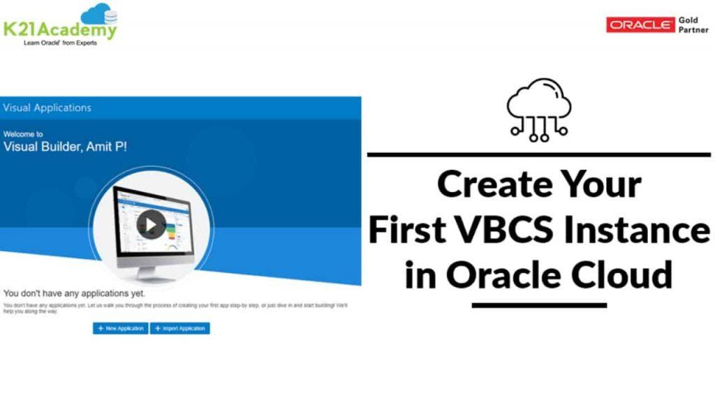 Visual Builder Cloud Service