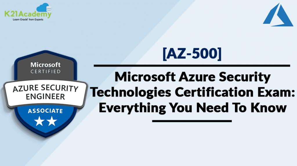 Azure SecOps Security Technologies