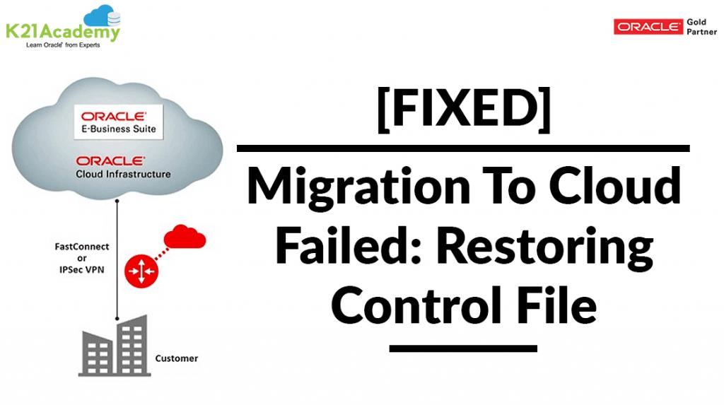 Restoring Control File