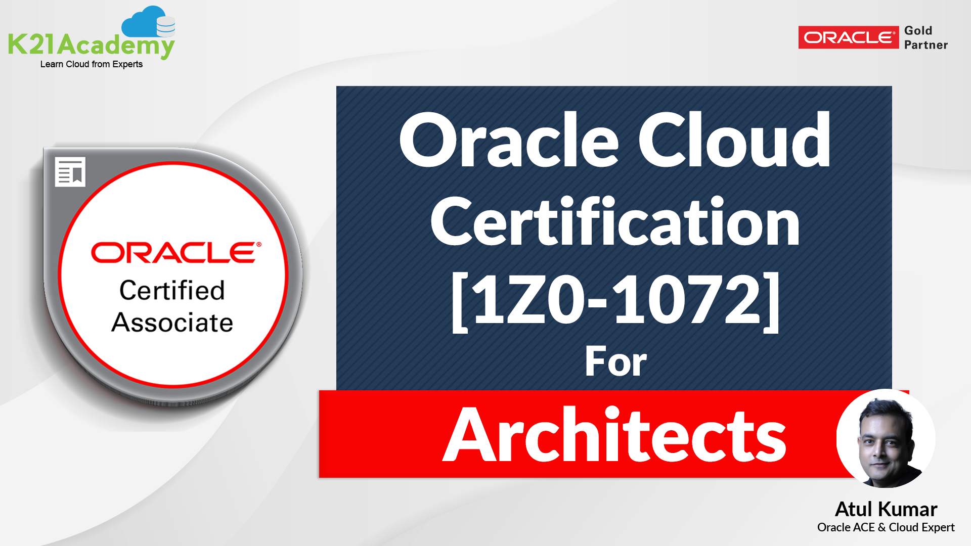 cloud oracle 1z0 1072 certification infrastructure infra architects