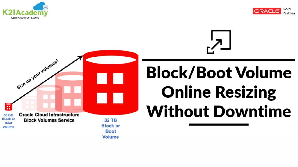Resizing Block Volume in OCI
