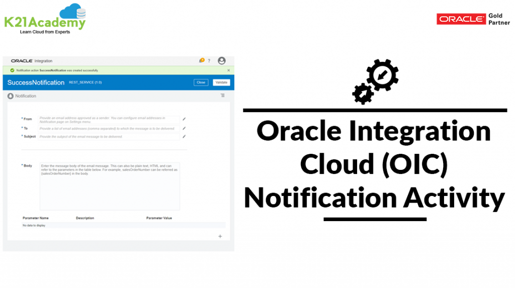 OIC Notification activity