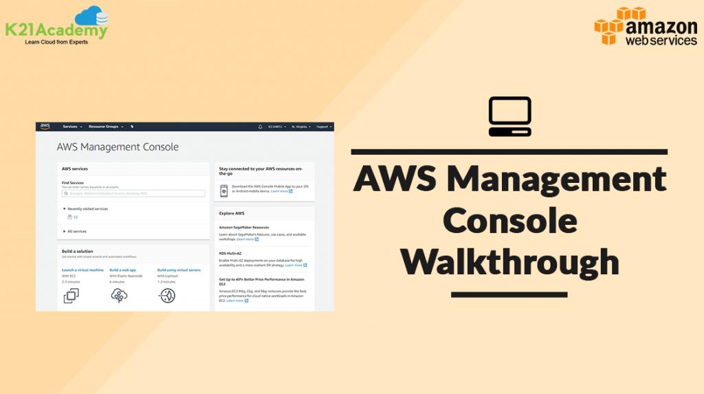 AWS Console Walkthrough