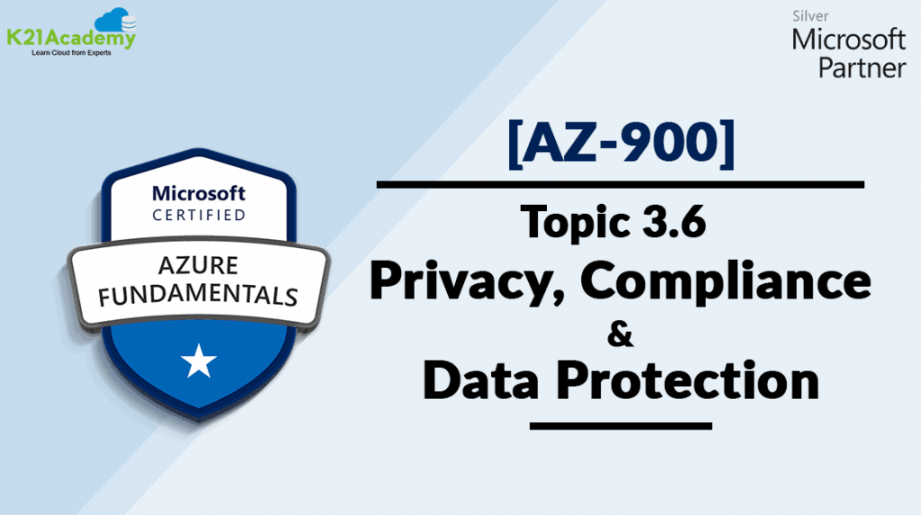 Azure Compliance and data protection