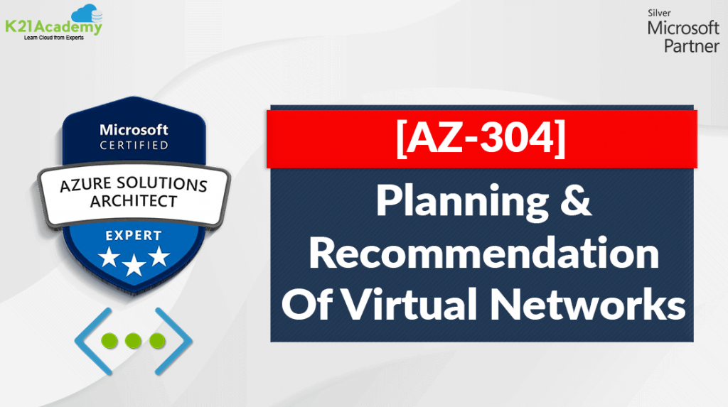 Planning of virtual networks