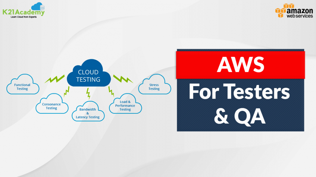 aws for testers and qa
