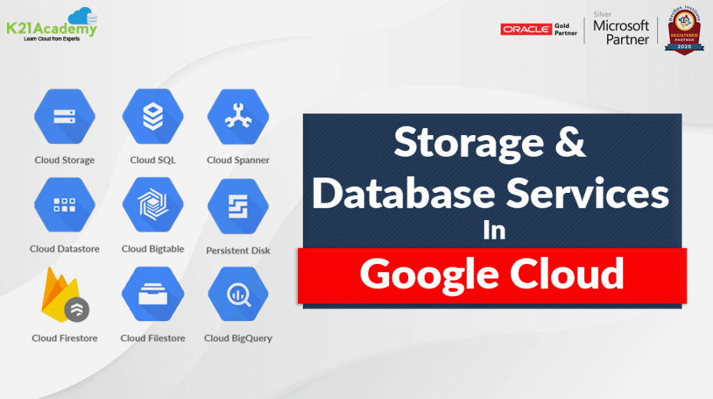 Google Cloud Storage And Database