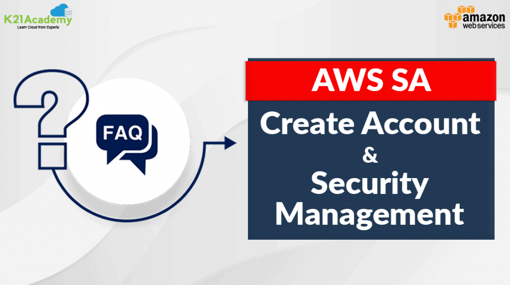 Create Account & and Security Management