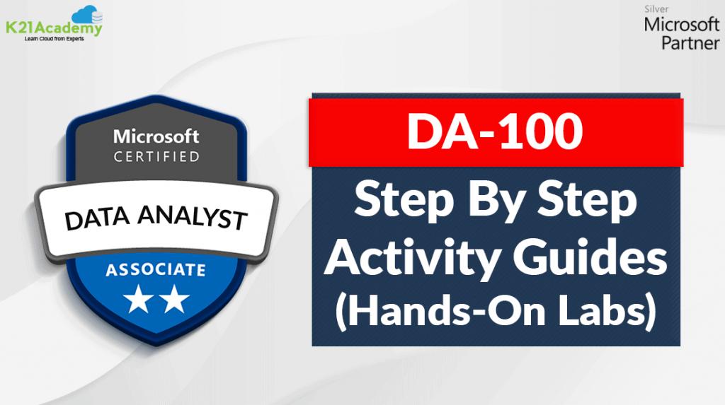 DA - 100 Hands on lab