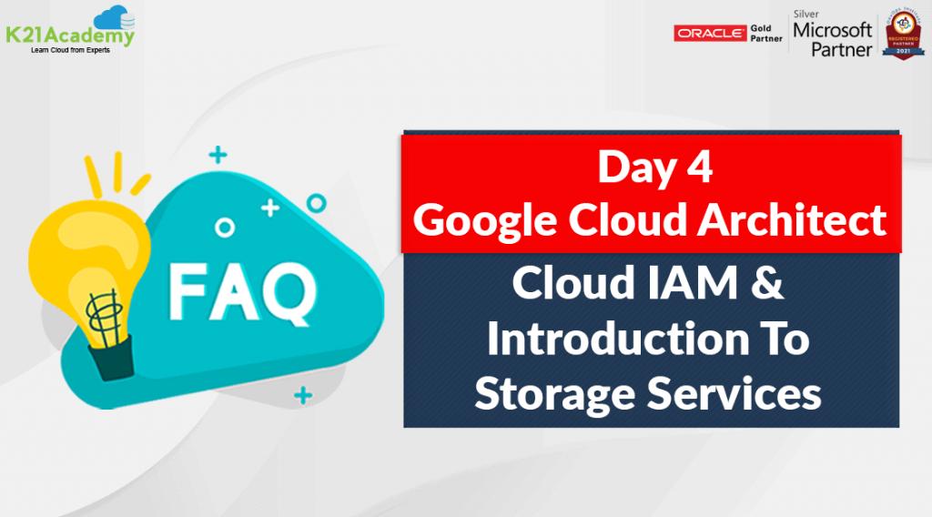 Google Professional Cloud Architect] Cloud IAM