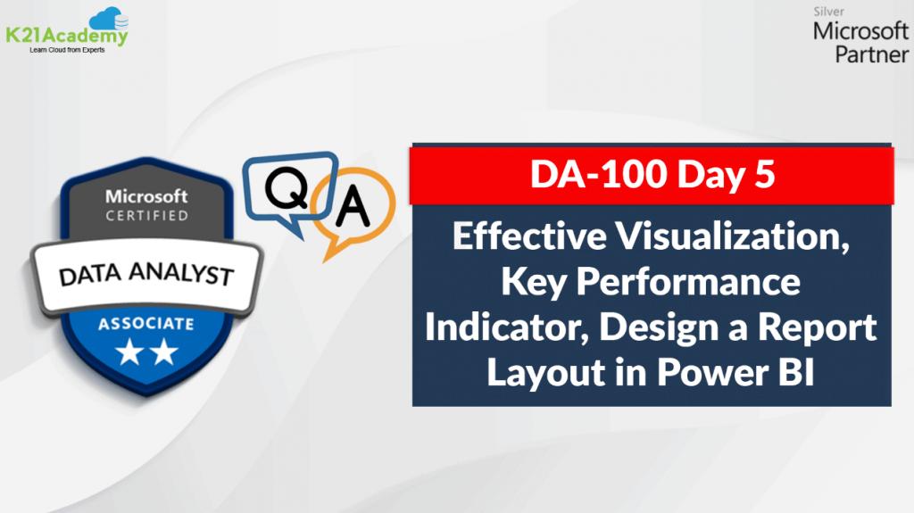 DA-100 Day 5 feature image